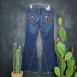 True Religion Jeans - True Religion Rainboy Joey Medium Wash Jeans  I383